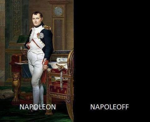 ナポレオンのオンオフ