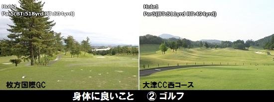 ゴルフ2コース