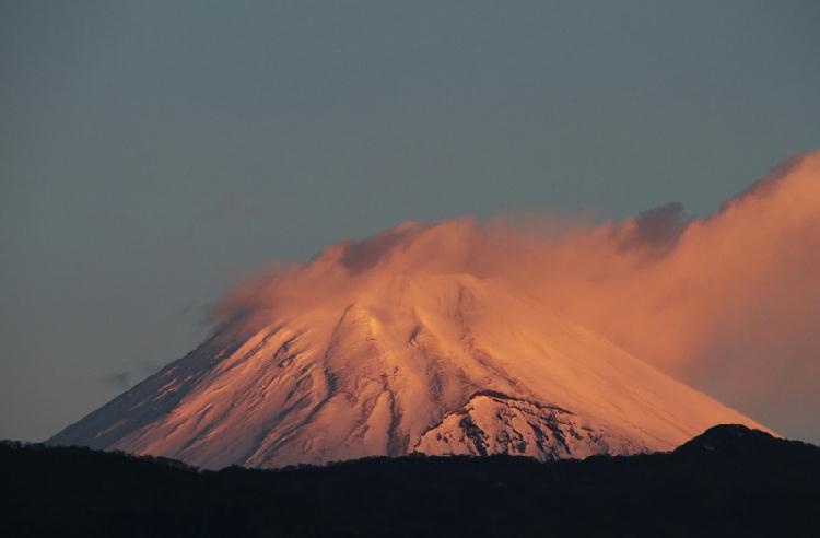 2015 1-1 7-1 今朝の富士山-1