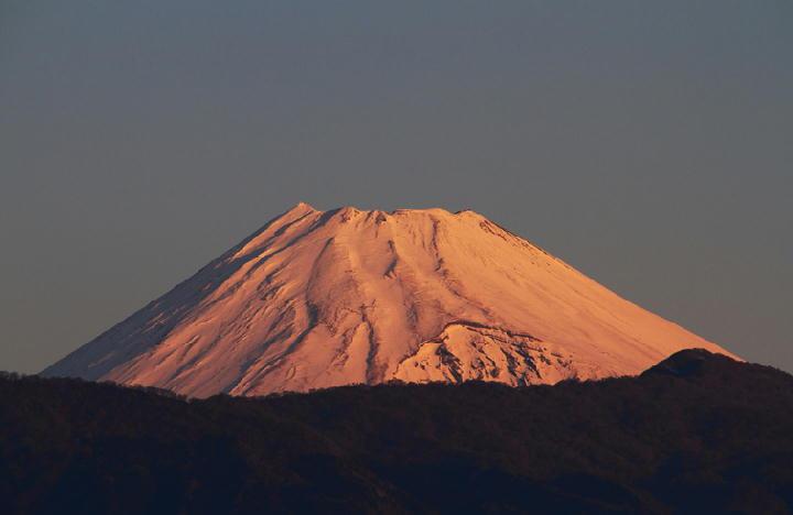 2日 7-00 今朝の富士山-1