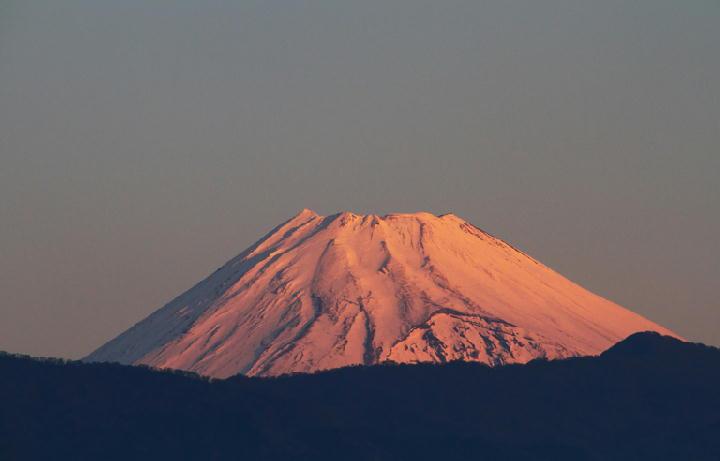 5日 6-59 今朝の富士山-1
