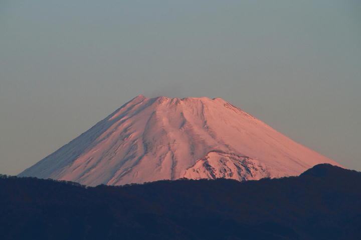 16日 6-58 今朝の富士山-1