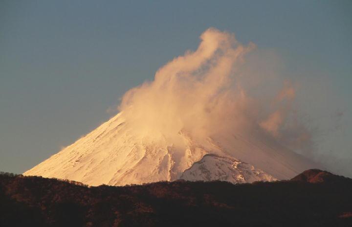 17日 16-39 今日の富士山-1