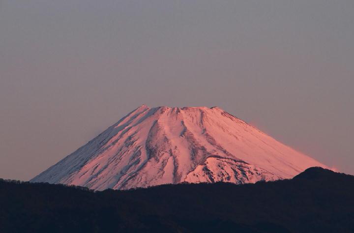 18日 6-51 今朝の富士山1-1