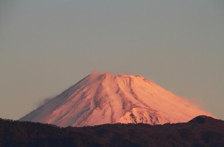 2-1 6-50 今朝の富士山1-1