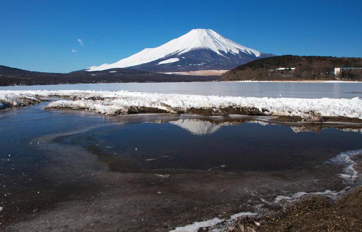 結氷の山中湖-293
