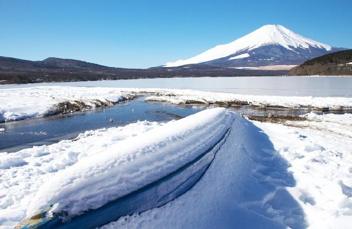 結氷の山中湖-277