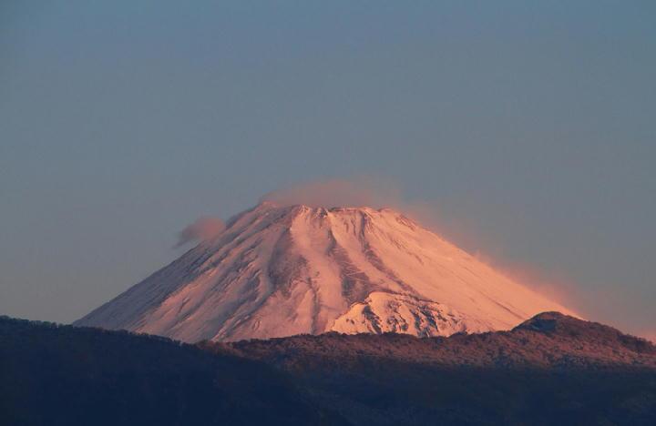 10日 6-47 今朝の富士山