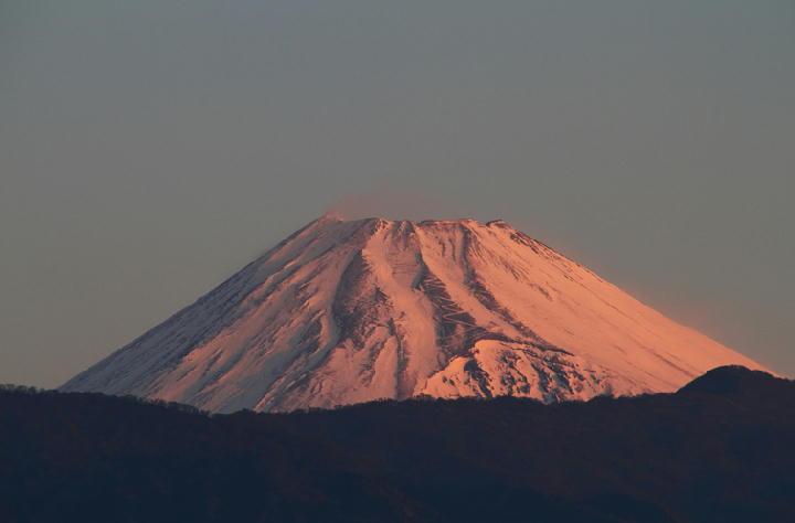 14日 6-39 今朝の富士山-1