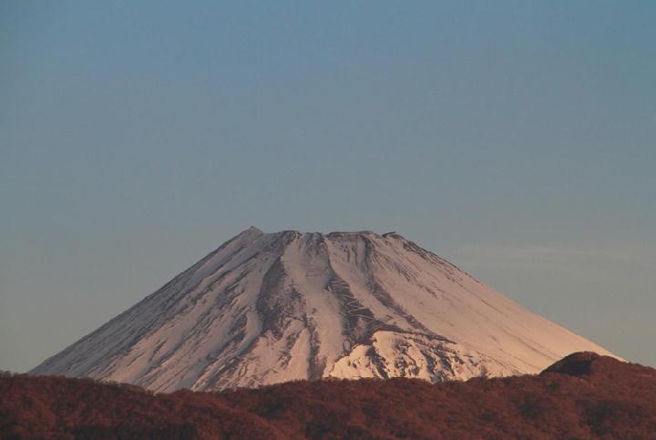 16日 6-50 今朝の富士山-1