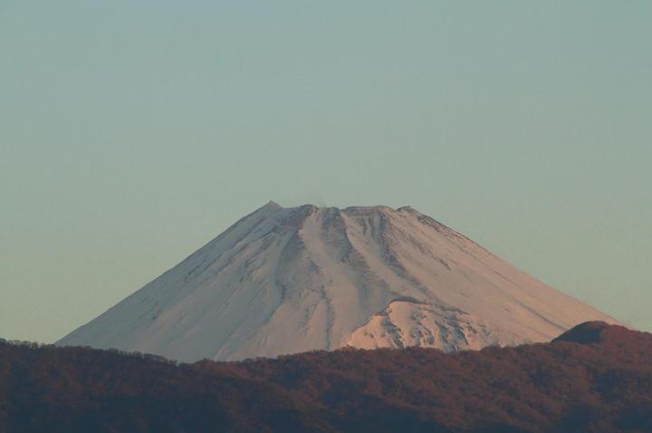 5日 6-28 今朝の富士山-1