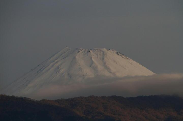 9日 6-46 今朝の富士山-1
