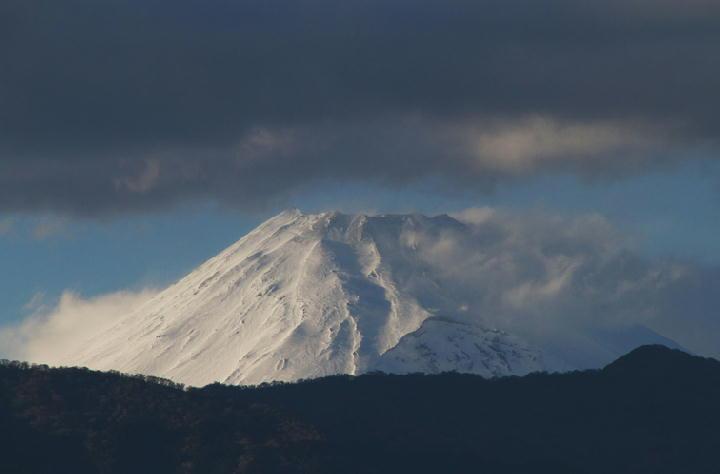 10日 16-58 今日の富士山-1
