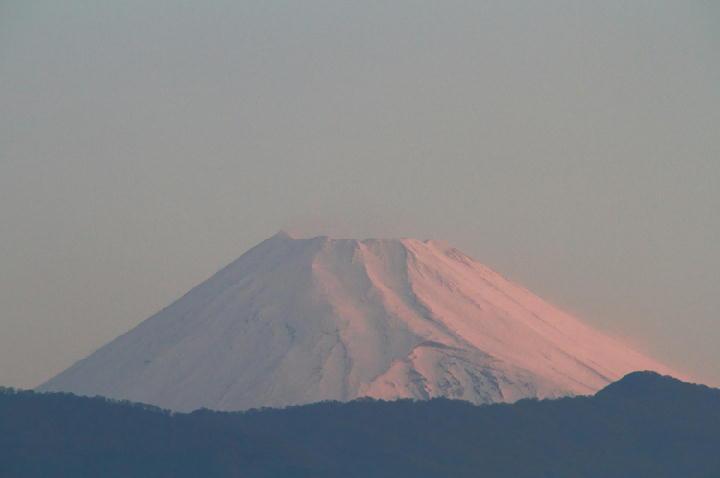 16日 5-18 今朝の富士山-1