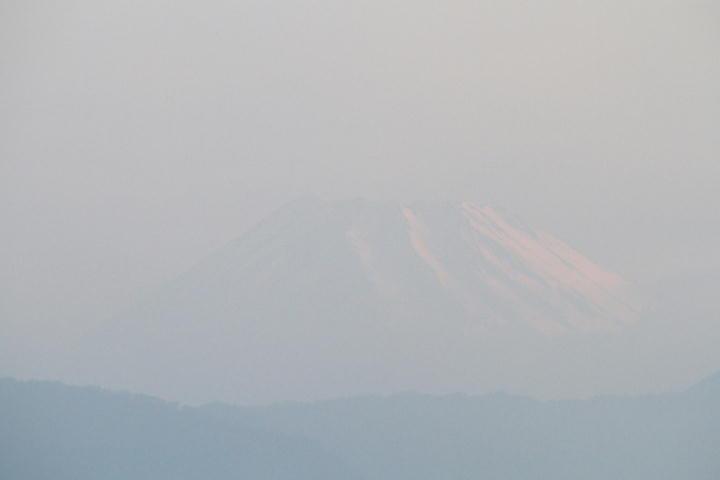 26日 5-15 今朝の富士山