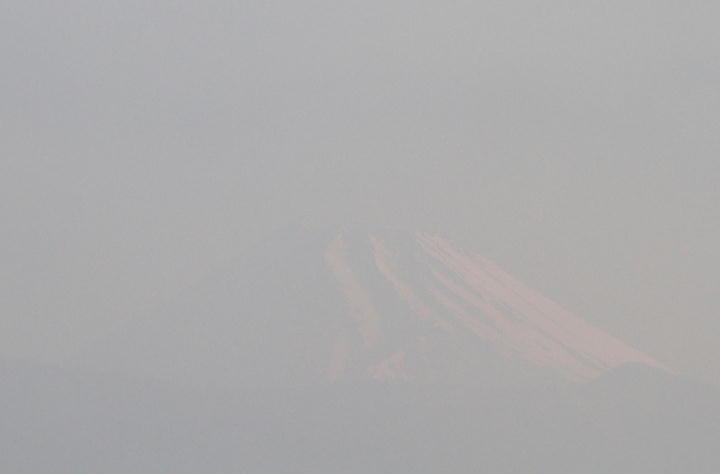 27日 5-45 今朝の富士山