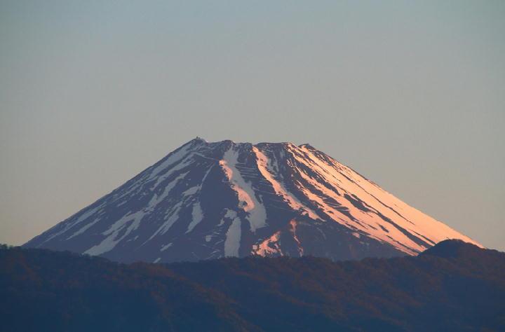 5-1日 5-01 今朝の富士山-1