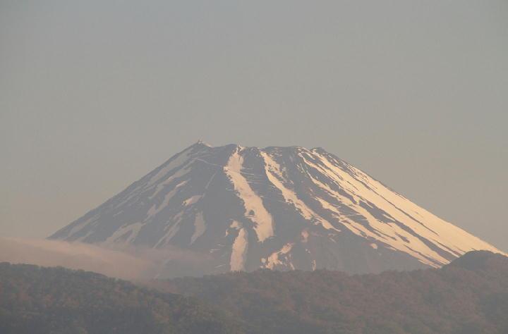 6日 5-51 今朝の富士山-1