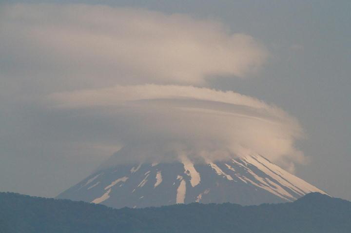 15日 6-40 今朝の富士山
