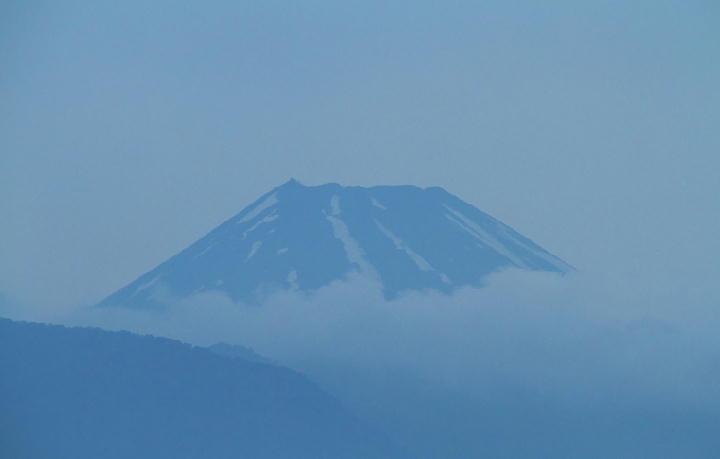 29日 4-34 今朝の富士山-1