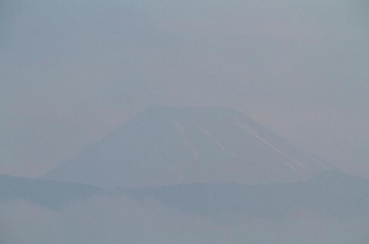 15日 5-38 今朝の富士山