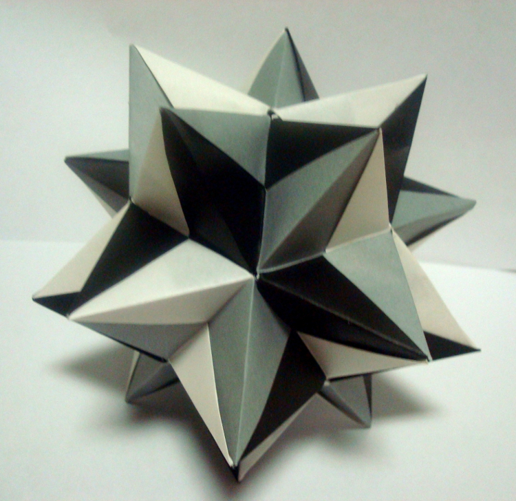 Unit Origami Star-1