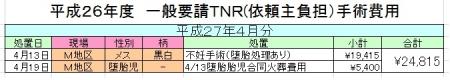 2704一般依頼TNR