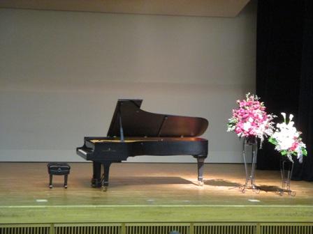 鈴木直美先生リサイタルⅩⅥ 小ホールステージ