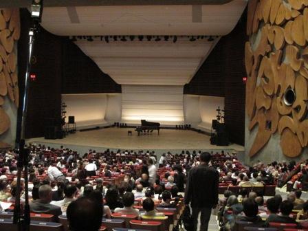 東京文化会館ホール2015