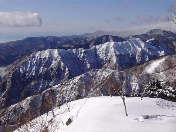 社山から足尾山塊