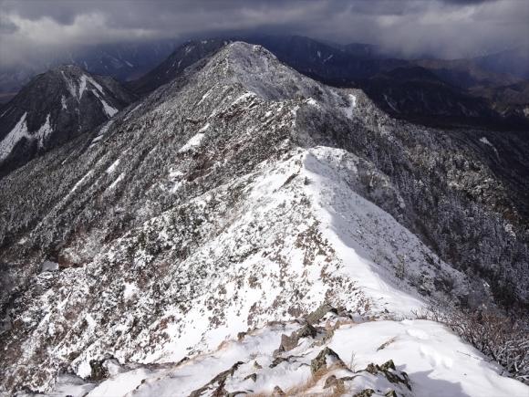 女峰山から帝釈山