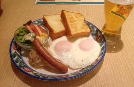 150214羽田朝食