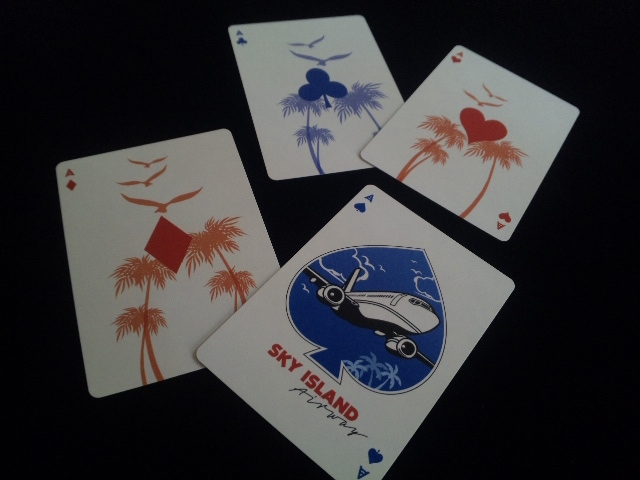 Sky Island Playing Cards (8)