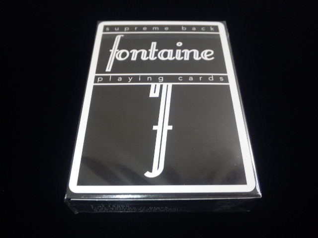 Fontain Playing Card Black (1)
