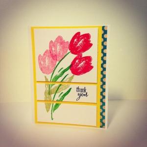 Crafty Cherry * Terrific Tulips