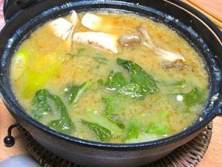 4_ボラの味噌生姜鍋