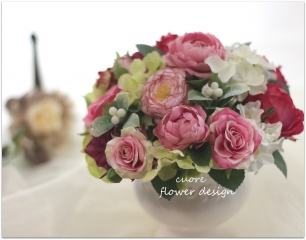 art rose arrange pink_201508
