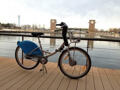 カナルパーク自転車