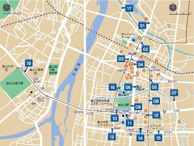 2015シクロシティ富山ステーションマップ