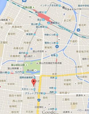 宝来タニタ食堂MAP