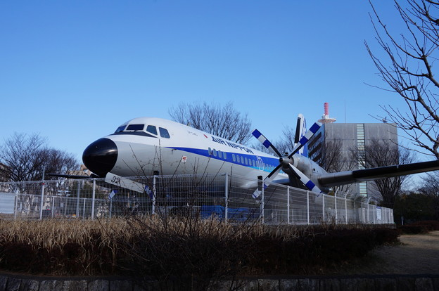 飛行機だ!