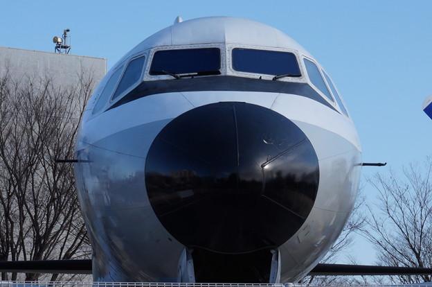 飛行機の顔