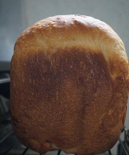 白桃パン焼き上がり
