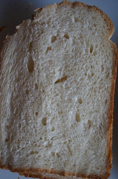 白桃パン切り口