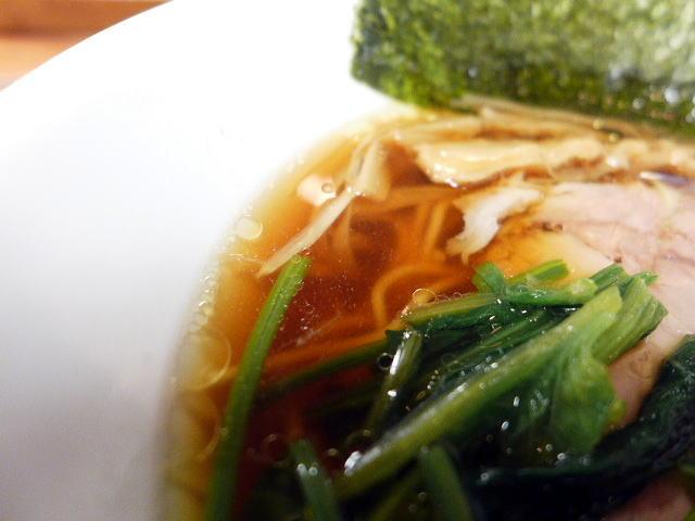 麺と酒 一帆@03清湯軍鶏そば 2