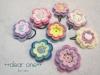 カラフルに咲いた♪お花のモチーフ(2015/06/17)