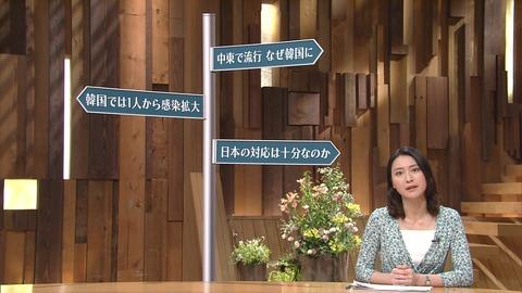 報ステ「韓国は安全、中東は危険。韓国より中東に気をつけろ!」 韓国で絶賛流行中のMERSニュースで。