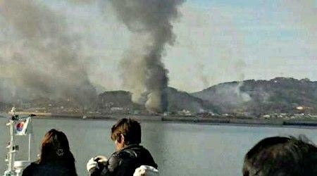 2010年11月23日、北朝鮮が韓国の延坪島を砲撃し、韓国軍海兵隊員2人が死亡したほか、隊員15人以上が重軽傷を負い、民間人3人もケガをした
