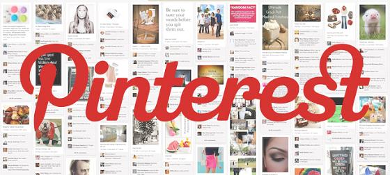 Pinterestは秀逸なロゴやデザインが共有されるサイト