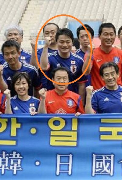 柿沢未途 韓国 サッカー
